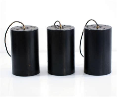 raak l retro 3 vintage raak cylinder sixties pendant lights