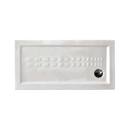 piatto doccia 140 piatto doccia 70x140 cm rettangolare in ceramica h 5 5 cm
