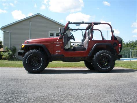 dark red jeep red jeep with black wheels jeepforum com