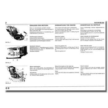 Sachs Motor 80 Sw by Schreiber Zweiradshop De Reparaturanleitung Sachs 80 Sw