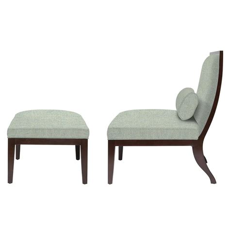 Slipper Chair And Ottoman Design Ideas Slipper Chairs Pair Of Ebonized Slipper Chairs By Johnson Furniture Co Green Slipper Chair 28