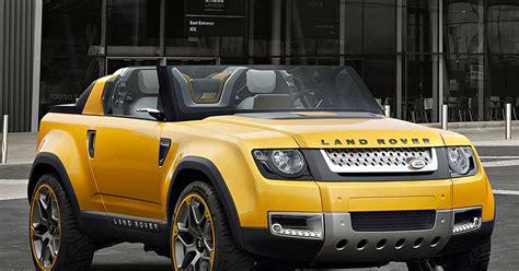 Garage Land Rover by Sport Car Garage Land Rover Dc100 Sport Concept 2017