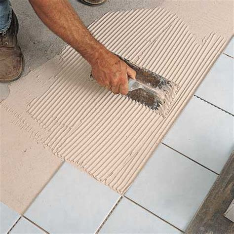Laying A Tile Floor by A On Laying Floor Tiles