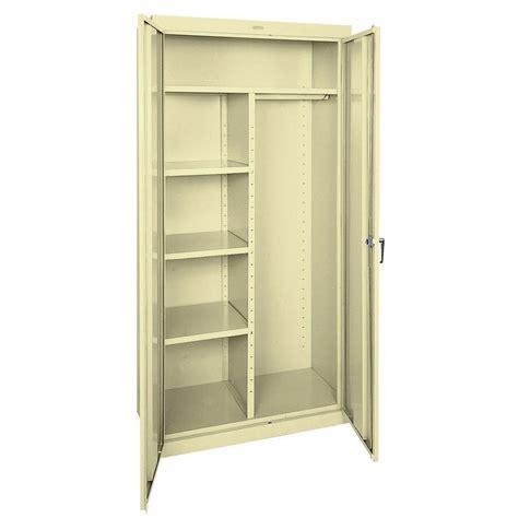 Sandusky Metal Cabinets by Sandusky 72 In H X 36 In W X 24 In D Steel Freestanding