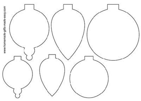 printable holiday shapes templates ornaments and christmas on pinterest