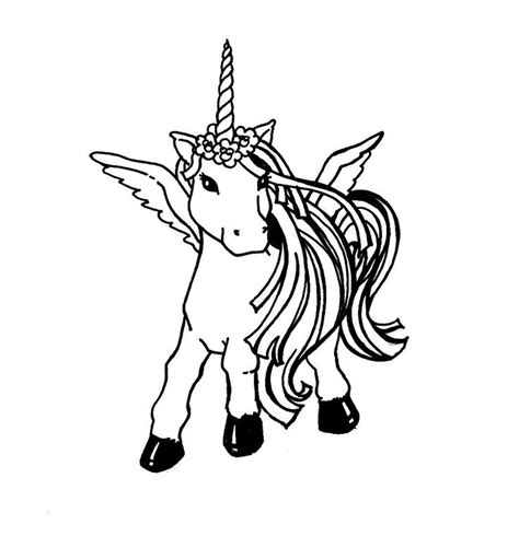 coloring pages of baby unicorns baby unicorn coloring pages free printable unicorn