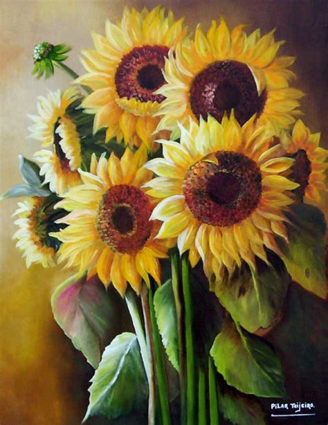 paintings of flowers 35 paintings of flowers by famous artists sunflowers