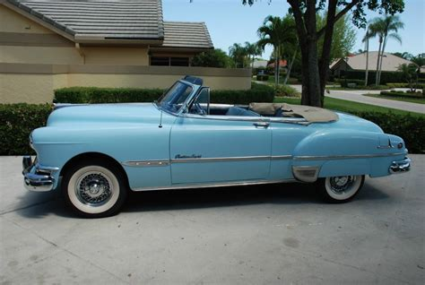 Pontiac Convertible For Sale by 1951 Pontiac Chieftain Convertible For Sale