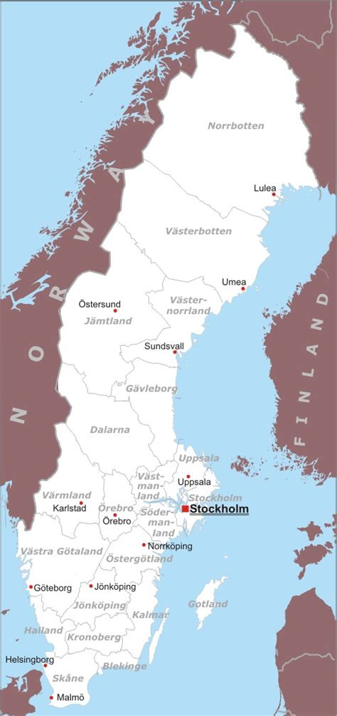 svezia europa settentrionale europa paesi home