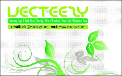 Business Cards Cdr Templates Free by Green Coreldraw Softare Business Cards Templates