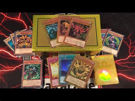 Kartu Yugioh Box yugioh millennium box gold edition opening exodia god