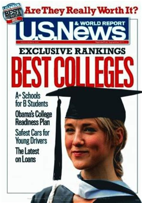 When Does Us News Release Mba Rankings by U S News And World Report College Rankings Press