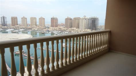 appartments for rent in qatar ref 171 semi furnished 2 bedrooms flat in pearl qatar