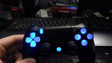 light to controller ps4 controller led mod update clear buttons