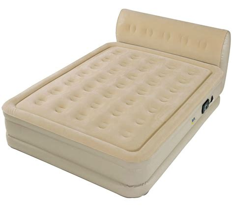 queen size inflatable air mattress raised bed built