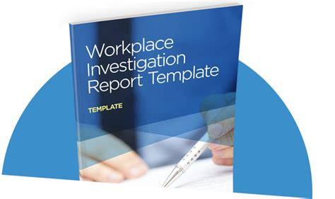 workplace investigation template workplace investigation report template i sight