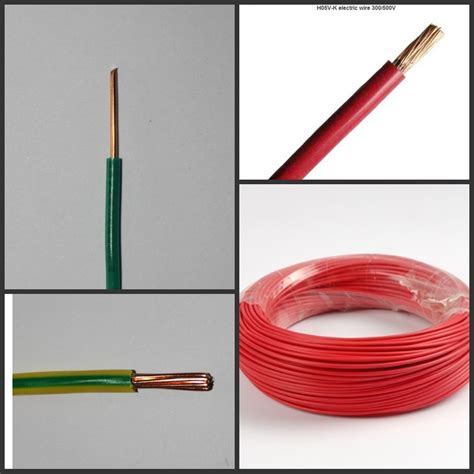 cheap pvc wire 1 5mm 2 5mm 4mm h05v u solid