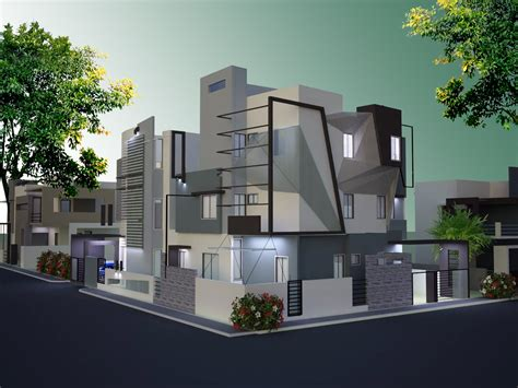 Small Bungalow Houses by Modern Villa Designs Bangalore Luxury Home Builders