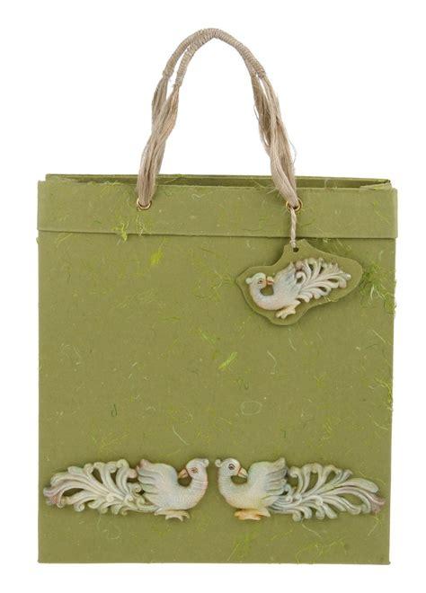 How To Make Eco Friendly Paper Bags - designer handmade eco friendly cardboard paper bag