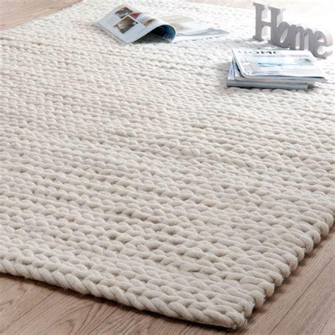 geflochtene teppiche teppich beige stockholm 140x200 homely home