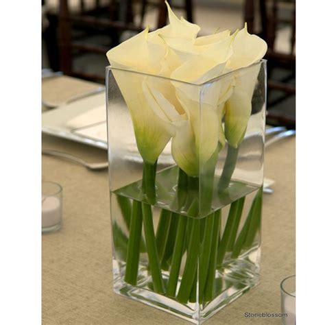Square Flower Vases glass vase vase square cylinder 30cm high glass vase