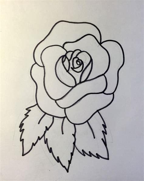 dibujos navideños para colorear facil c 243 mo dibujar una rosa abierta y cerrada 161 hoy no hay cole