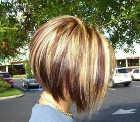 stacked sling haircut or sling haircut stacked bob haircut pictures back head well done for at