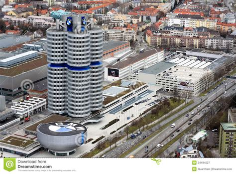 bmw siege social bmw慕尼黑博物馆 图库摄影片 图片 24494527