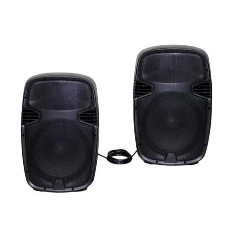 Bluetooth Untuk Speaker Aktif jual maxxis mxm 815 bluetooth pro series speaker aktif 15 inch 2 pcs harga kualitas