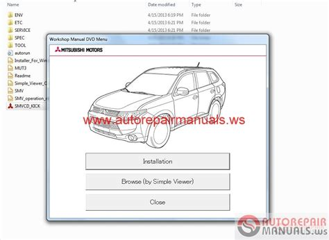 free online auto service manuals 2003 mitsubishi outlander parental controls auto repair manuals mitsubishi outlander 2014 wsm
