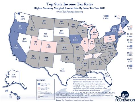 tax map carpe diem monday map state income tax rates