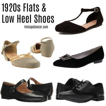 1920s flat shoes vintage flats history pictures
