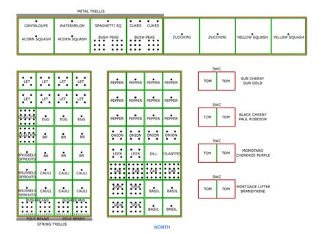 Layout The Gumshoe Gardener Garden Plot Layout