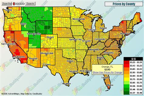 map of us gas prices geography 7 ucla lab 1 interesting maps