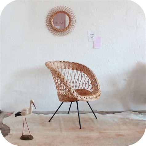 fauteuil osier but fauteuil osier rotin vintage 233 es 50 233 es 60 atelier du petit parc
