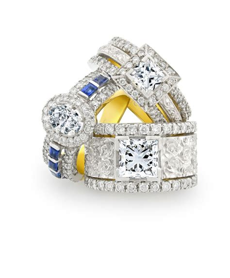 Bling Ring From Accessorize by Clifford Designs Bridal Engagement Rings