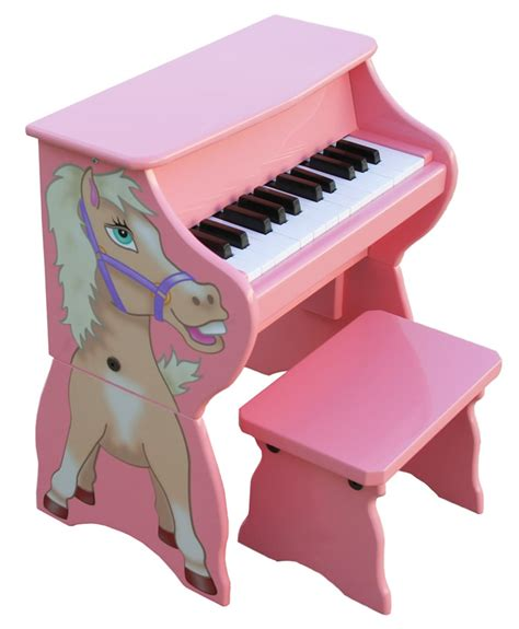 toddler piano with bench happy horse toy piano with bench