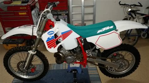 1990 Ktm 250 Exc 1990 Ktm 250 Dx 2 Stroke Mx Or Ahrma