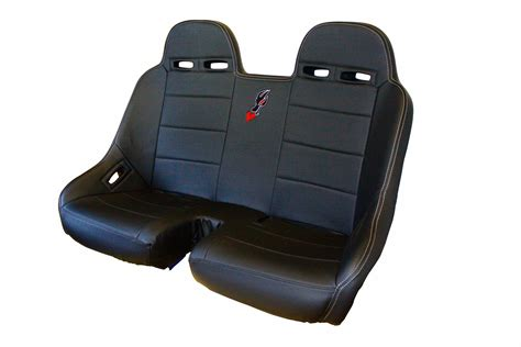 Front Bucket Bench Seat For Polaris Rzr Models Dragonfire Racing