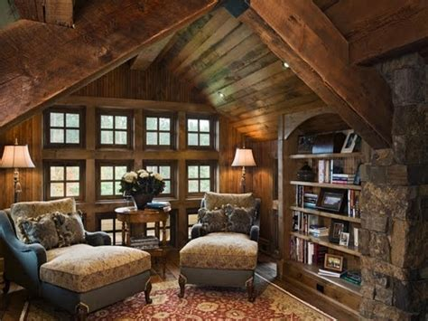 small cottage bedroom log cabin loft interior design a