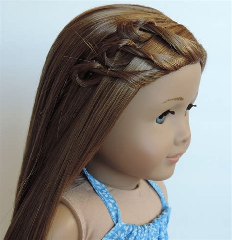 Cute Hairstyles For Kit The American Girl Doll | cute american girl doll hairstyles trends hairstyle