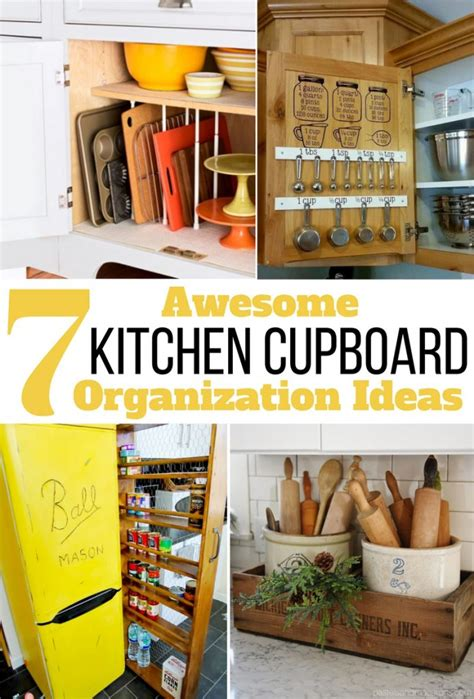 kitchen cupboard organizing ideas 7 awesome kitchen cupboard organization ideas you must try