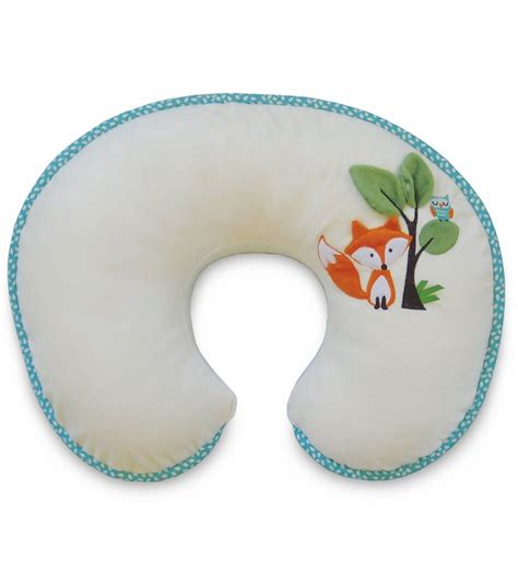 boppy luxe slipcover boppy pillow with luxe slipcover fox owls