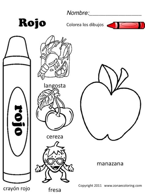 free spanish coloring worksheets download espa 241 ol para