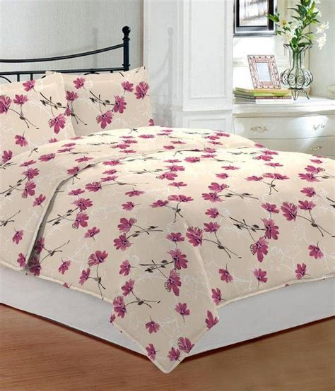printed bed sheets bombay dyeing printed cotton double bed sheets buy