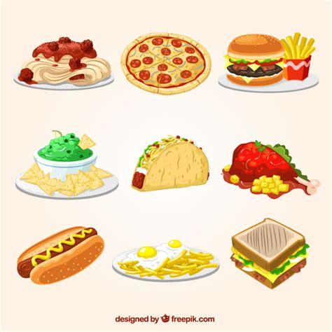 imagenes gratis comida ilustraciones de comida r 225 pida descargar vectores gratis