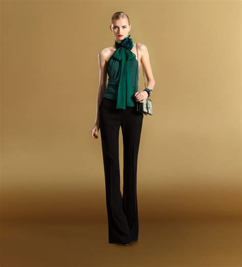 Gucci Top gucci women s ready to wear fall winter 2011 halter top