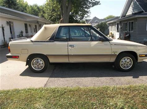 1985 renault alliance used 1985 amc renault alliance l convertible in canton oh
