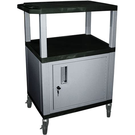cart with locking cabinet wilson tuffy utility cart with locking cabinet 300 lb