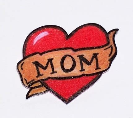 mom tattoo cartoon how did the quot mother mom quot heart tattoo come to be the